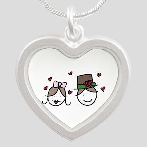 Bride And Groom Necklaces
