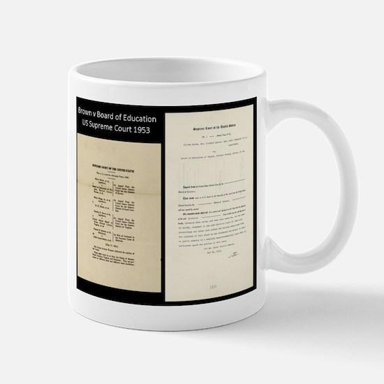 Brown V Board Ed Supreme Court 1953 Mugs