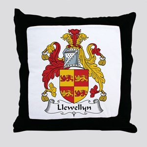 Llewellyn (Wales) Throw Pillow