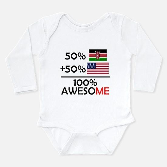 Half Kenyan Half American Body Suit
