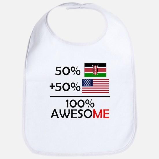 Half Kenyan Half American Bib