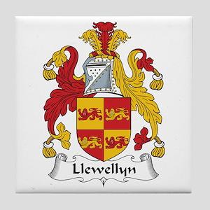 Llewellyn (Wales) Tile Coaster