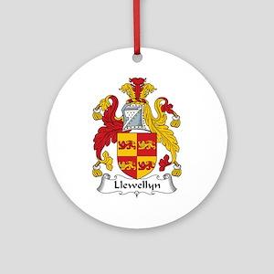 Llewellyn (Wales) Ornament (Round)