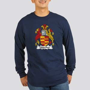 Llewellyn (Wales) Long Sleeve Dark T-Shirt