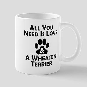 Love And A Wheaten Terrier Mugs