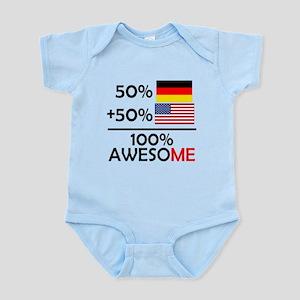 Half German Half American Body Suit