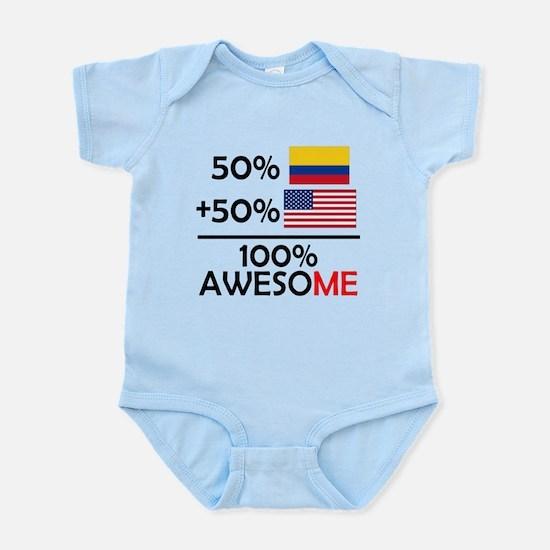 Half Colombian Half American Body Suit