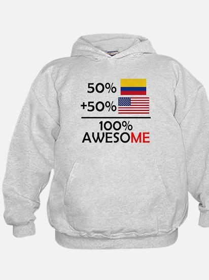 Half Colombian Half American Hoodie