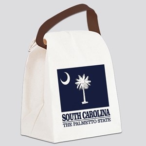 South Carolina Flag Canvas Lunch Bag
