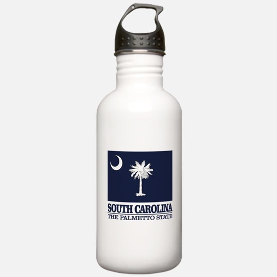 South Carolina Flag Water Bottle