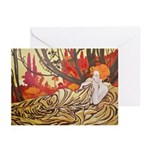 Rising With The Sun Greeting Cards