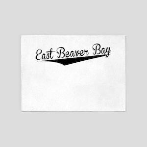 East Beaver Bay, Retro, 5'x7'Area Rug