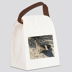 Roadrunner Ruffling Feathers Canvas Lunch Bag