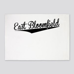 East Bloomfield, Retro, 5'x7'Area Rug