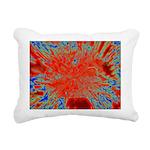 Action flower Rectangular Canvas Pillow