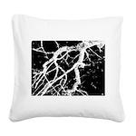 Night creatures Square Canvas Pillow