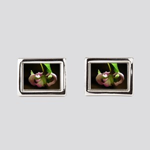 The Pink in the Forest Rectangular Cufflinks