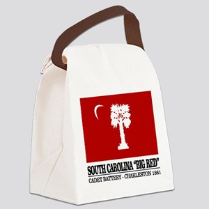South Carolina Big Red Canvas Lunch Bag