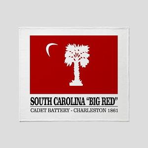 South Carolina Big Red Throw Blanket