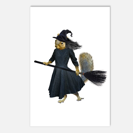 Squirrel Witch Postcards (Package of 8)