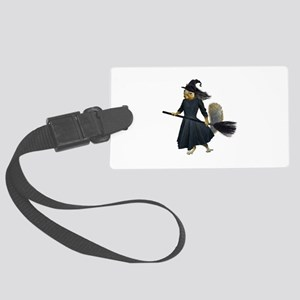 Squirrel Witch Large Luggage Tag