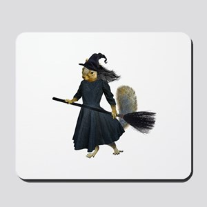 Squirrel Witch Mousepad