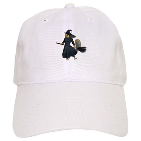 Squirrel Witch Baseball Cap by catsclips 0155a7a5980