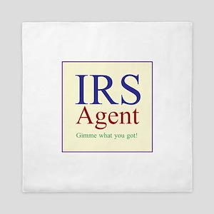IRS Agent Queen Duvet