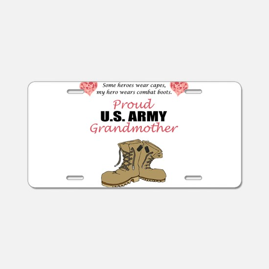 Funny Grandmother Aluminum License Plate