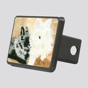 Lionheads Lola and Vito Rectangular Hitch Cover