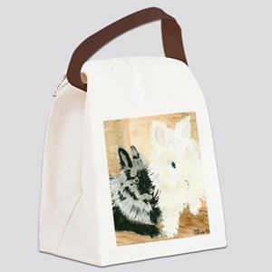 Lionheads Lola and Vito Canvas Lunch Bag