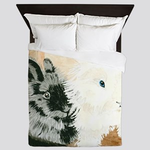 Lionheads Lola and Vito Queen Duvet