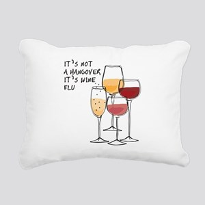 Its not a hangover its w Rectangular Canvas Pillow