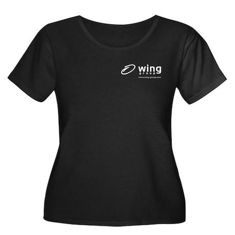 Wing Group Women's Plus Size T-Shirt (dark)