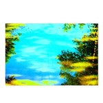 Beautiful summer day Postcards (Package of 8)