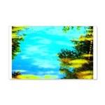 Beautiful summer day Wall Decal