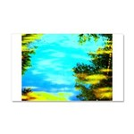 Beautiful summer day Car Magnet 20 x 12