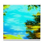 Beautiful summer day Tile Coaster