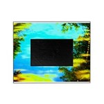 Beautiful summer day Picture Frame
