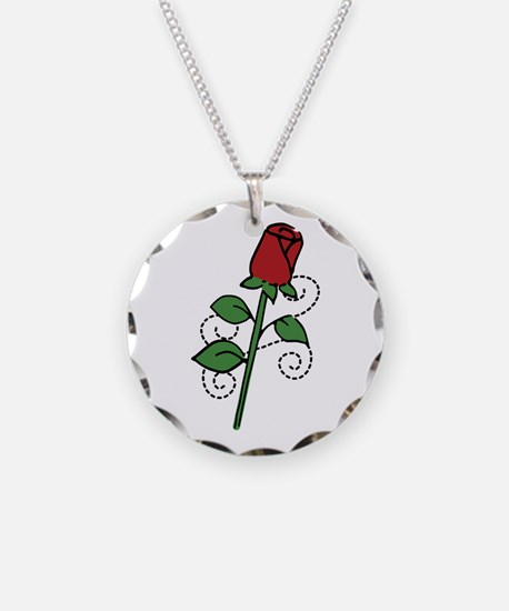 Valentine Rose Necklace