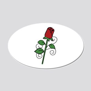 Valentine Rose Wall Decal