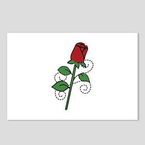 Valentine Rose Postcards (Package of 8)