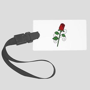Valentine Rose Luggage Tag