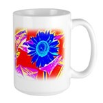 Blue Sunflower Mugs