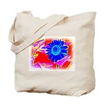 Blue Sunflower Tote Bag