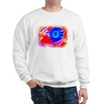 Blue Sunflower Sweatshirt