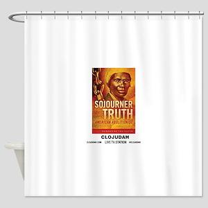CLOJudah Sojourner Truth Shower Curtain