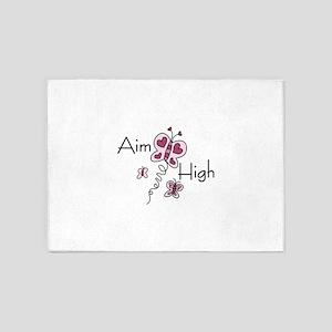 Aim High 5'x7'Area Rug