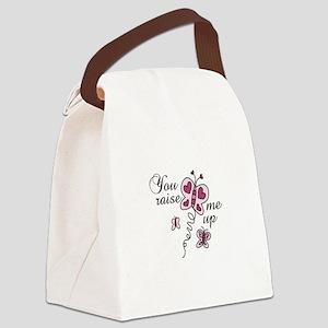 You Raise Me Up Canvas Lunch Bag