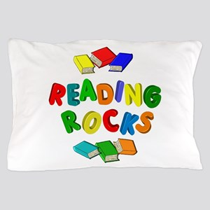 READING ROCKS Pillow Case
